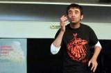 Festival Dimey 2015 : Louis-Noël Bobey, stupéfiant jongleur de mots et de notes