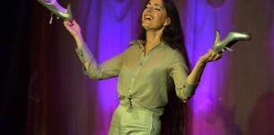 Avignon off 2017. Christina Rosmini dans les mots de Brassens