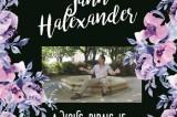 Jann Halexander, un soleil dans le noir