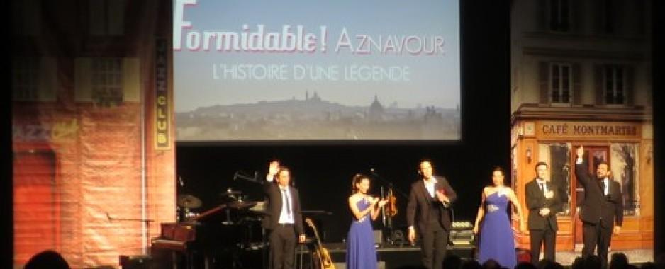«Formidable Aznavour», un an après