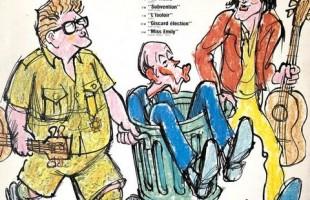 Giscard d'Estaing, un accordéon, un éléphant, des oeufs brouillés
