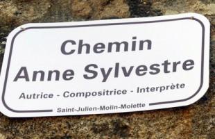 Saint-Julien-Molin-Molette : Anne Sylvestre va son chemin…
