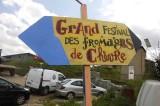 Le charme d'un festival pas comme les autres, le goût du fromage de chèvre