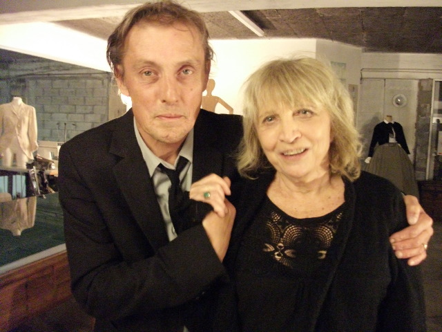 Allain Leprest et Francesca Solleville (photo Michel Kemper)