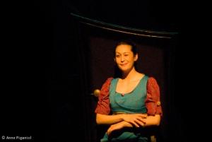 Amélie-les-Crayons en probante Mona Lisa (photo Anne Piganiol)
