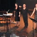 Natasha Bezriche, Sébastien Jaudon, Isabelle Bonnadier (photo d'archives ???)