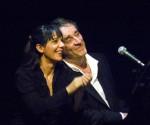 Nathalie Miravette et Romain Didier (photos Norbert Gabriel=