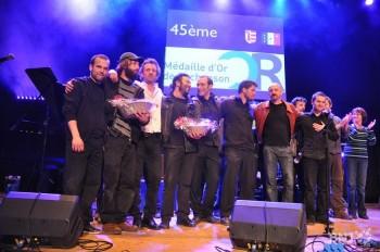 Les lauréars de l'an passé. Qui succédera en 2013 à Zedrus (en chimise blanche sur la photo). (photo DR)