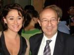 """Elle et son """"spécialiste es-chanson"""", Jacques Pessis (ph. DR)"""