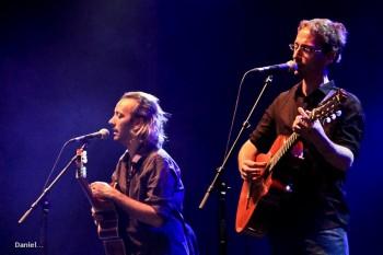 Frédéric et Olivier Volovitch (photo d'archives Lesmaux18)