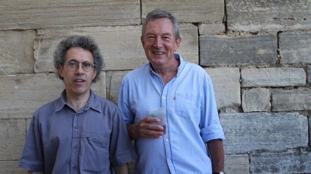 Eric Nadot et Michel Bühler, lauréats 2013 du Prix Jacques-Douai (photo Catherine Cour)