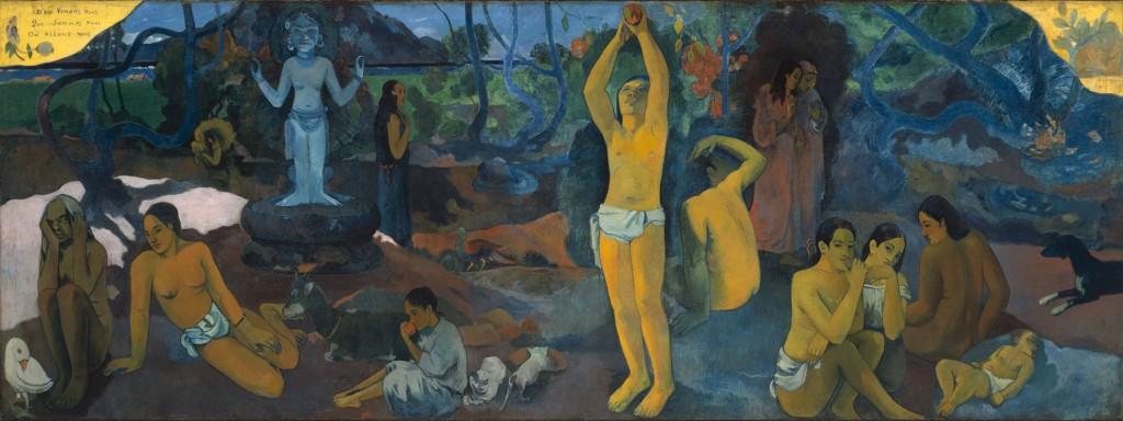 """Paul Gauguin, """"D'où venons-nous ? Que sommes-nous ? Où allons-nous ?"""" 1898"""