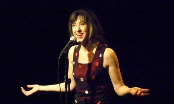 Céline Caussimon (photo d'archives Norbert Gabriel)
