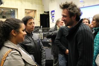 Des lycéens d'Ivry-sur-Seine en grande conversation avec Lliaros