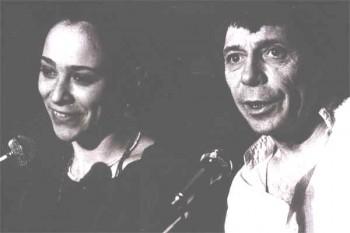 Nathalie Solence et Jacques Cerizier (photo DR prélevée à la toile)