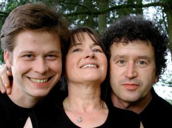 Julien Biget, Sylvie Berger dite La Bergère, et Emmanuel Pariselle (DR)