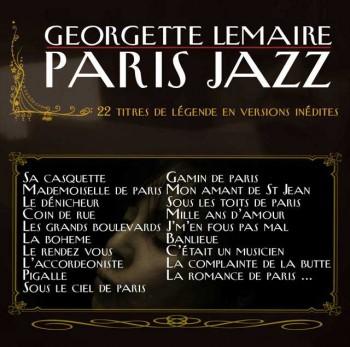 Georgette Lemaire album Paris-Jazz 22 titres