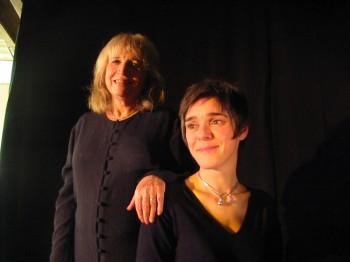 Francesca Solleville et Nathalie Fortin (photo Michel Kemper)