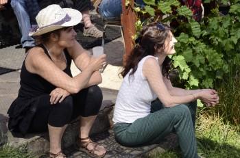 Lily Luca et Chloé Lacan