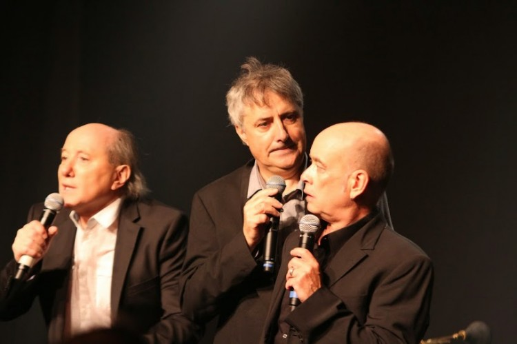 Xavier Cherrier, Sylvain Richardot et Michel Puyau (photos Catherine Cour)
