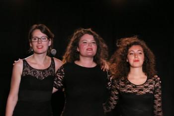 Cécile Wouters, Noémie Lamour et Lydie Lefèbvre