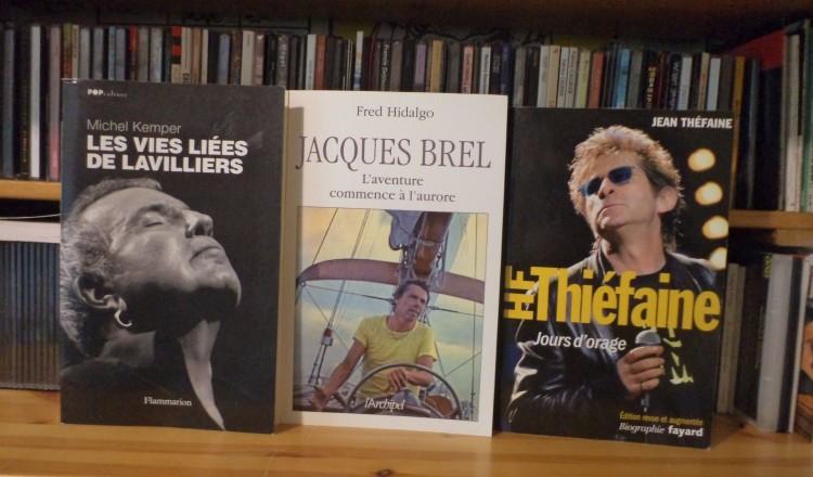 Trois livres de référence avec désormais leur bande-son