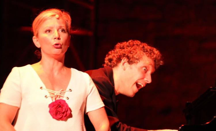 Sur la grande scène, Baquet a mis le paquet : mémorable ! (photos Catherine Cour)