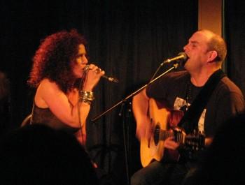 Angel Forrest et , couple sur scène et dans la vie (DR)