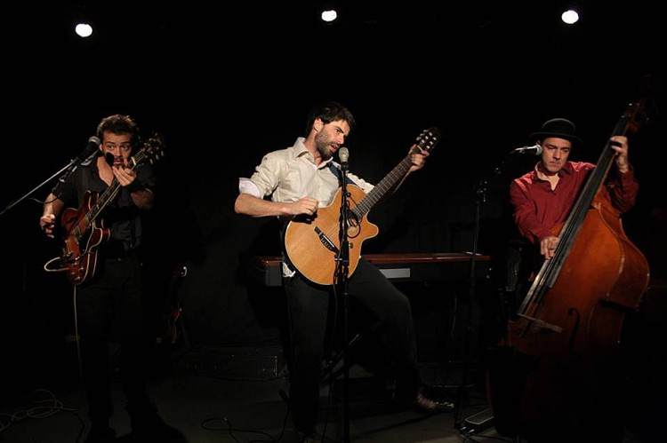 Guillaume Barraband trio (photo Le Tarn libre)