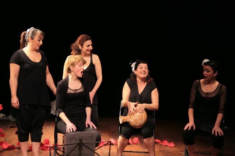 Evasion chante Anne Sylvestre (photos Catherine Cour)