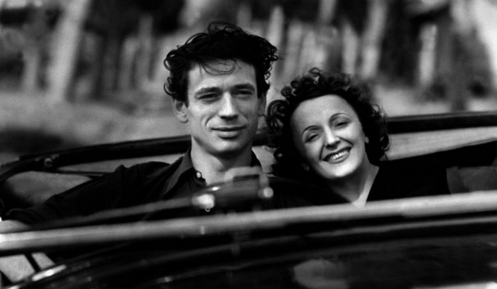 Edith Piaf et Yves Montand (photo DR)
