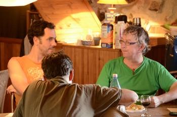 Emmanuel Le Poulichet et Michel Kemper (photo Marc Buonomo)