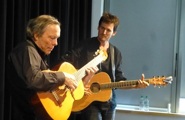 Pierre Delorme et Frédéric Bobin (photo Claude Fèvre)