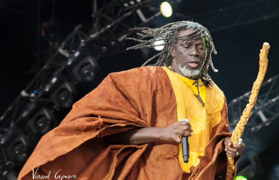 Ticken Jah Fakoly (photo Vincent Capraro)