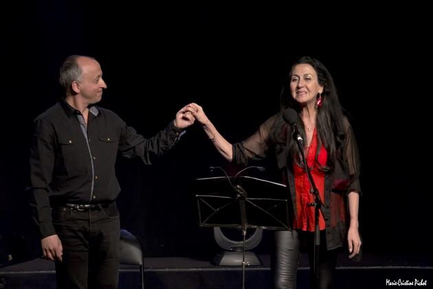 Sébastien Jaudon et Natasha Bezriche (photo Marie-Christine Pichot)