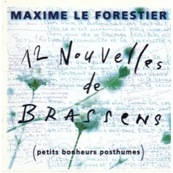 Le Forestier Brassens 12 petits bonheurs posthumes 1996