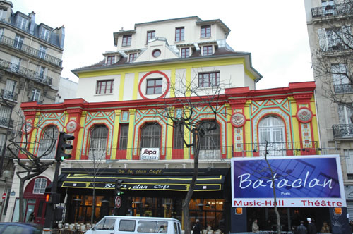 Le Bataclan, Paris (photo DR)