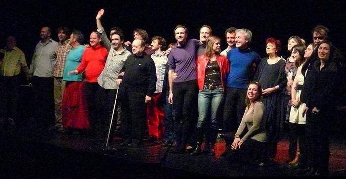 Tout le monde sur la photo (photo Norbert Gabriel)