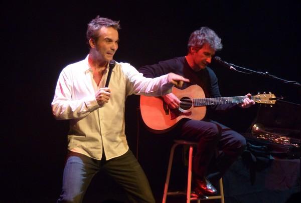 Laurent Viel et Thierry Garcia (photo Cathy Lohe)