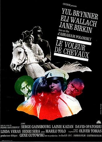 Gainsbourg Polonsky Le roman d'un voleur de chevaux 1970
