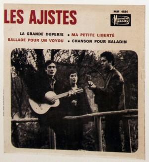 1966. Gérard Pierron a vingt et un ans. Il s'inscrit à une audition où il chante deux chansons. Le jour même, le producteur lui propose cet enregistrement de 4 titres. Gérard fait appel à sa sœur Françoise qui a quinze ans à l'époque, et à un copain guitariste.