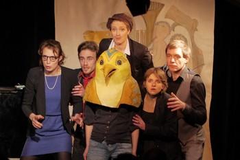 Zofia Rieger, Jeanne Vimal, Matila Malliarakis, Nathalie Bourg, Clémentine Lebocey, Solange Wotkiewicz, Alain Carbonnel (photo Mathilde Michel)