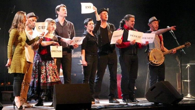 Les Didoudingues, lors de leur récente prestation au festival Bernard-Dimey (photo DR)