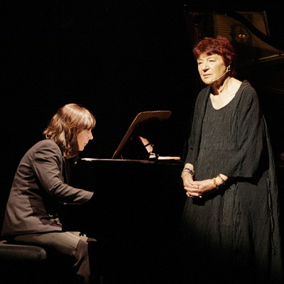 Avec la pianiste Miravette