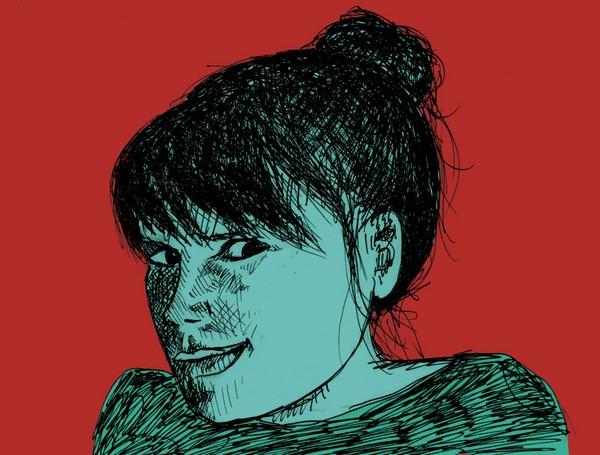 Lily Luca (autoportrait)