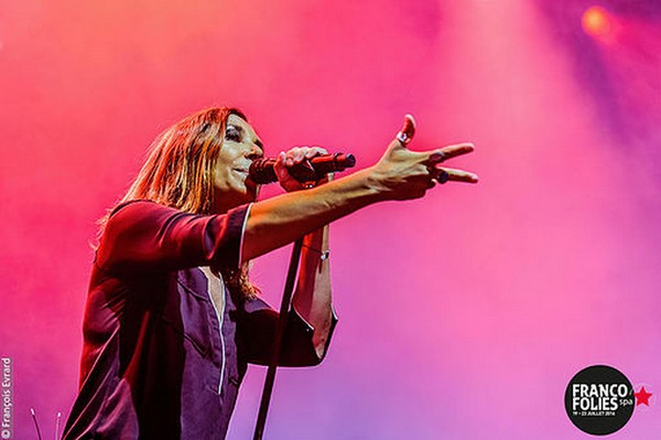 Zazie (photo François Eward/Francofolies Spa)