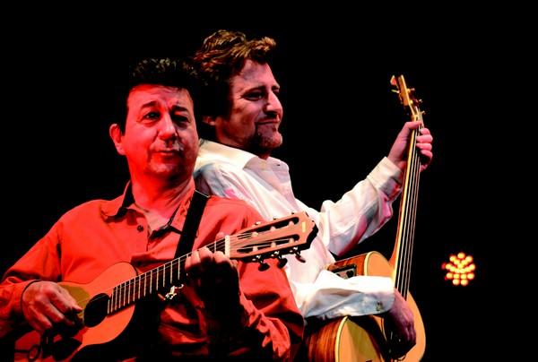Gil Chovet et Christophe Treille (photo d'archives DR)