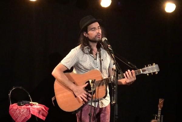 Justin Lacroix à l'Arrache-Coeur (photo DR)