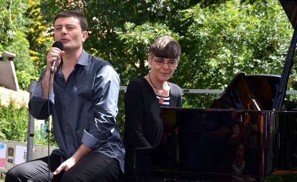 Laurent Berger et Nathalie Fortin (photo Serge Féchet)