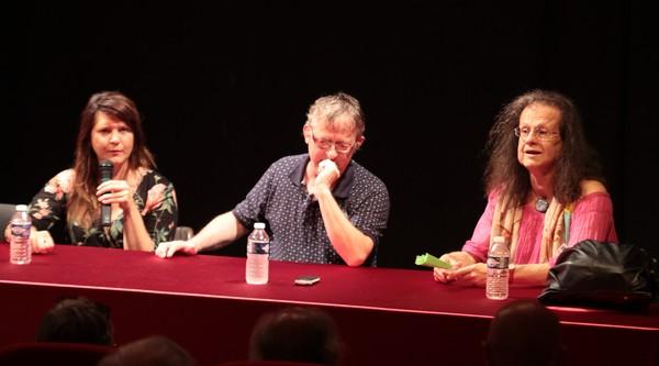 Roxane Joseph, Michel Kemper et Hélène Hazera (photos Catherine Cour)